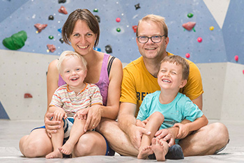 Kinder und Familien
