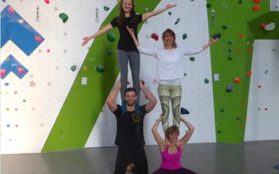 Yoga Workshops in Kooperation mit dem YogaStudio OM Blume des Lebens