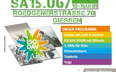 Sommerfest – 150 Jahre Deutscher Alpenverein